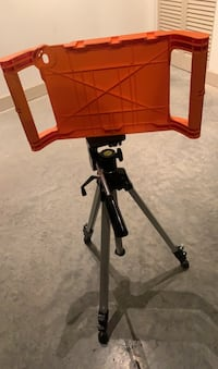 Tripod stand iPad holder included