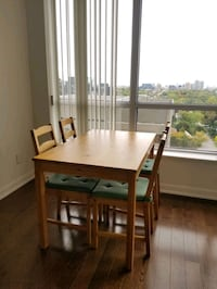 Almost new IKEA Table and Chairs  Toronto, M2N 7K1