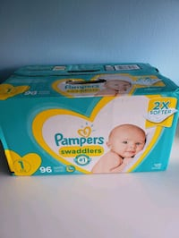 Pampers diapers size 1 Toronto, M6M 3Z2
