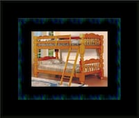 Wooden Twin bunkbed frame with 2 mattress Manassas, 20108