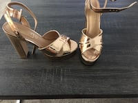 Rose gold heels size 8 39 km