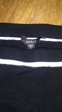 black and white striped polo shirt 3158 km
