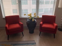 Two West Elm Book Nook arm chairs Atlanta, 30305