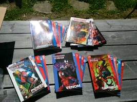 Ultimate Spiderman Paperbacks