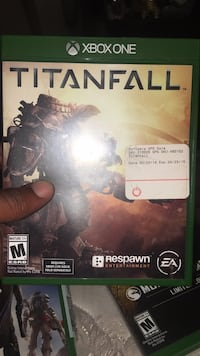 Titanfall Xbox One game case null