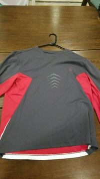 Long sleeve K-Swiss athletic shirt (XL) Reston, 20190