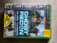The Division Xbox games..and Xbox 360 games case Ringgold