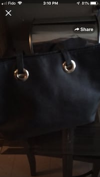 black Michael Kors leather tote bag Winnipeg, R2M 5B1