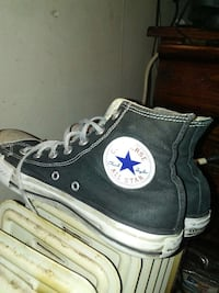 black Converse all star high tops Kansas City, 64123