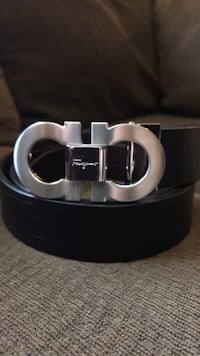 Black Ferragamo belt small buckle Houston, 77016