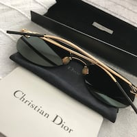 Original Dior Revolution Aviator Sunglasses / Black New York, 11104