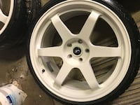 """19"""" Rota Grid Drift Wheels x 4 with Tyres null"""