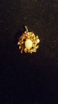 18k gold filled and plated with natural topaz and  Edmonton, T6A 2E4