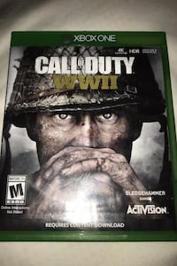 Call of duty WWII  (XBOX ONE) Rockville, 20854