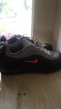 pair of black-and-white Nike running shoes Riviera Beach, 33404