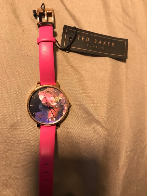 New Designer Ted Baker woman's watch ($200)