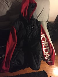 black and red zip-up jacket Greeley, 80634
