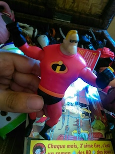Mr. Incredible plastic toy
