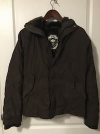TNA winter jacket brown Good condition very warm Toronto, M5M 2K7
