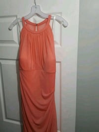 women's orange sleeveless dress Frederick, 21703