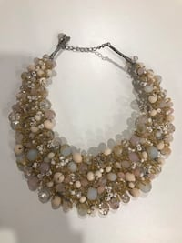 silver and white pearl necklace Pointe-Claire, H9R