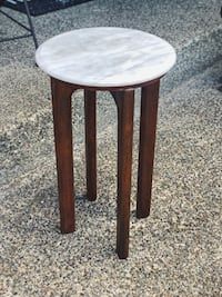 Marble Side Table Seattle, 98103