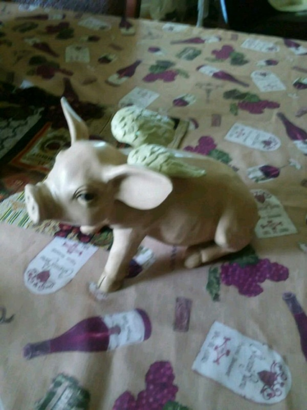 Pig With Wings Figurine