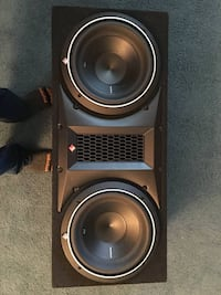 """Rockford Fosgate P2 Punch 10"""" subs"""