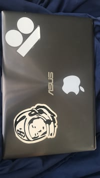 Black asus laptop