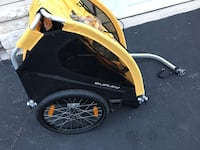 yellow and black bicycle trailer Washington, 20024
