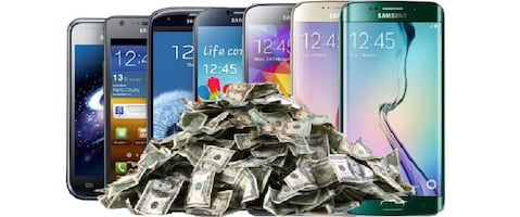 Money trade for Galaxy and iPhone