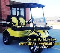 * just putting up for sale my excellent efficient Golf cArt.