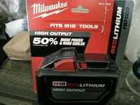 black and red Craftsman power tool