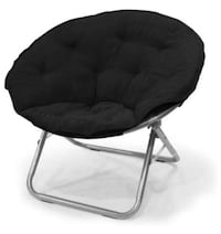 Mainstays Large Microsuede Saucer Chair with Soft, wide seat South Bend