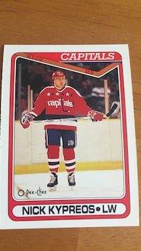Nick Kypreos collectible card Ottawa, K1V 0B2