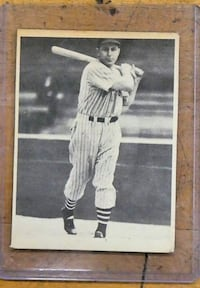 1939 Play Ball #78 Julius Solters Cleveland Indians Baseball Card Original. vintage. collectible.