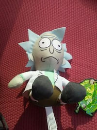 Rick and Morty plush Orion charter Township, 48362
