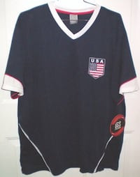 Team USA V Neck Soccer Jersey NWT Size Large London