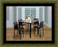 Counter height table with 4 chairs Adelphi, 20783