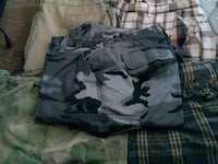 black and gray camouflage cargo shorts Killeen, 76541