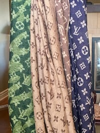 Louis Vuitton Style logos on scarves/Shawls Vaughan, L6A 3S1