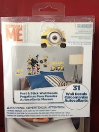 Despicable Me 2, 31 Peel and Stick Wall Decals Markham, L3T 1Y9