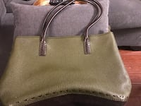 NEW LOWER PRICE Ferragamo Green/Brown Leather Tote Mississauga, L5V 1S3