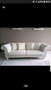 Chesterfield Sofa und Sessel