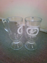 Mobile Greyhound Park Glass Mugs