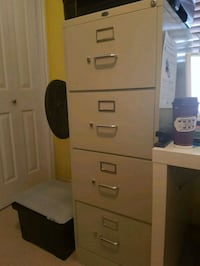 white 4-drawer filing cabinet Spruce Grove, T7X 0C8