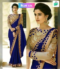 Samaira Fashionable Party Wear Silk Embroidered Sa Hyderabad