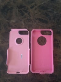 two pink iPhone cases