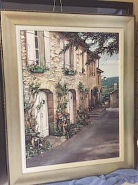 Framed print and two end tables Vaughan, L4L 5R3