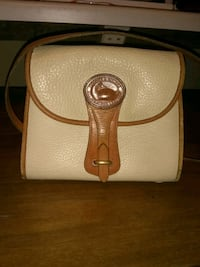 white and brown leather crossbody bag Louisville, 40204